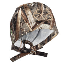 Realtree Camo Scrub Hat Officially Licensed with embroidered Fish-Hook logo