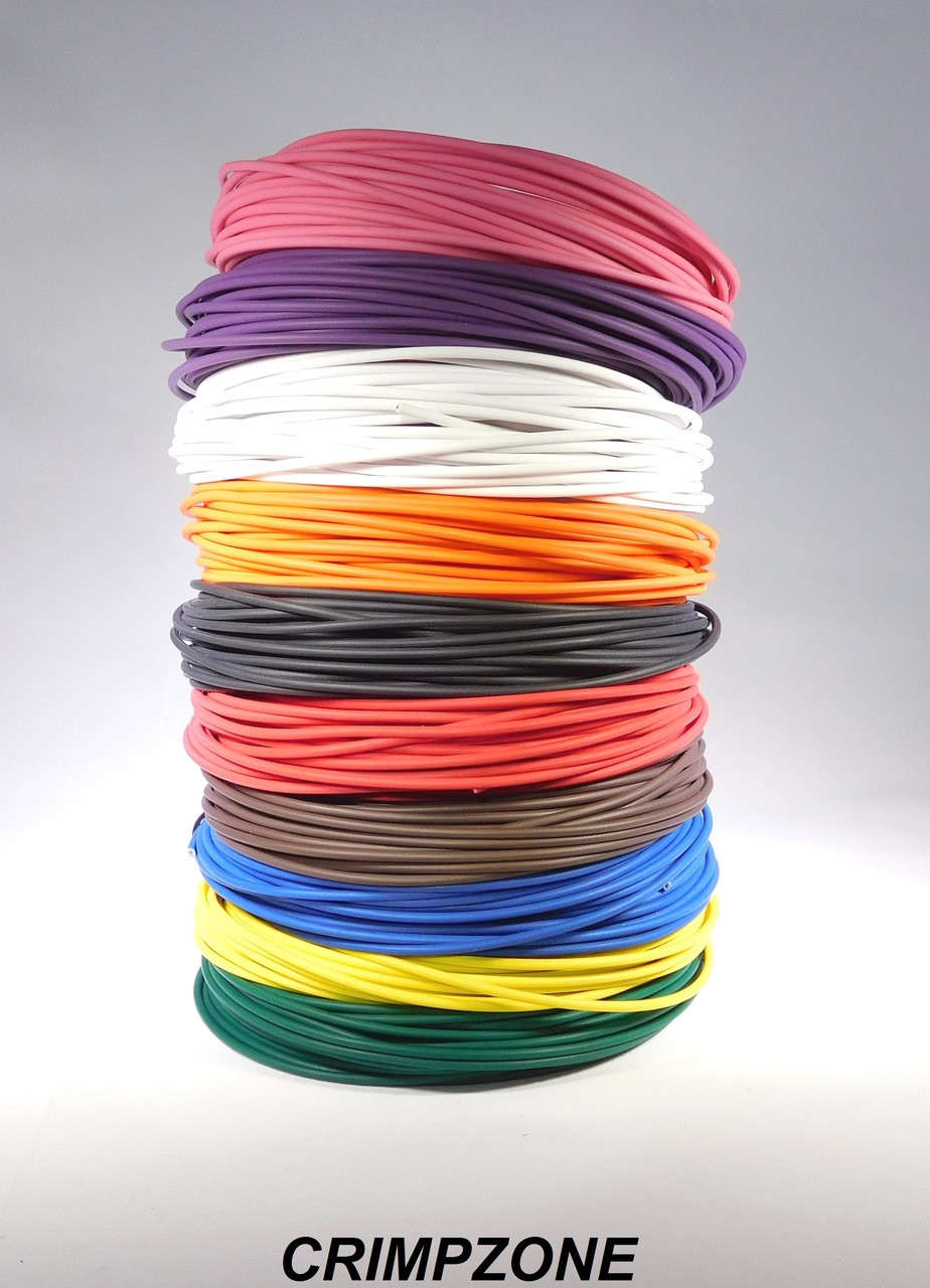 REEL OF 250 FEET AUTOMOTIVE WIRE 18 AWG HIGH TEMP TXL WIRE BLUE 250 FT