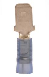 """16-14 GA .250"""" Male Nylon Insulated Quick Disconnect"""