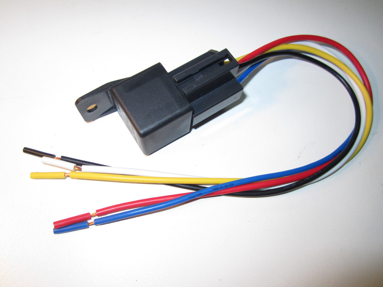 Awe Inspiring Automotive Relay Socket 12 Pigtail Crimpzone Wiring Cloud Hisonuggs Outletorg