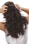 EasiHair Extension - EasiXtend 16 inch HD 8pc Wavy (#346) Back