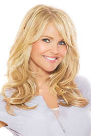 Christie Brinkley Wig - 16 Inch Clip-in Hair Extension (CB16EX) front 1