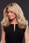 Jon Renau Wigs : Angie Human Hair Exclusive Colors (#707A) 12FS8 - SIDE