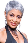 Foxy Silver Wig - Mary (#10361)
