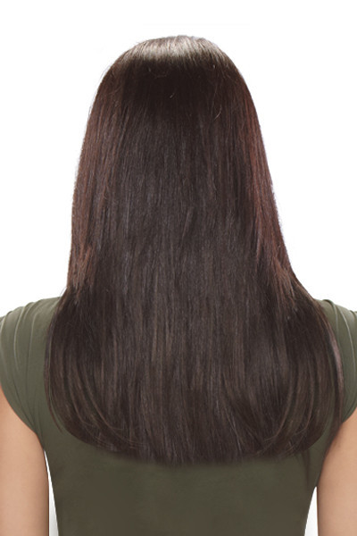 EasiHair Extension - EasiXtend 16 inch HD 8pc Straight (#345) Back