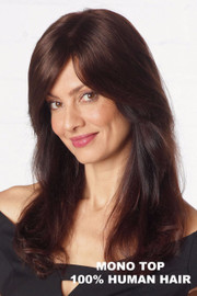 Simply Beautiful Wig by Revlon - Discreet Topper HH (#6612) Front