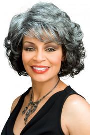 Foxy Silver Wig - Barbara (#10388)