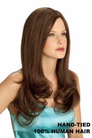 Louis Ferre Wig - NRC 002 HM 16 Human Hair Front/Side