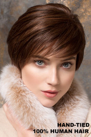 Ellen Wille Wig - Award Human Hair - Dark Chocolate Mix - Front