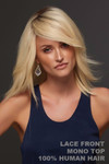Jon Renau Wig - Carrie HH Exclusive Colors (#708A) Front 1