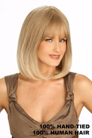 Louis Ferre Wig - Platinum 107 Human Hair Front/Side