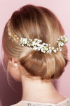 HairDo Extension - French Braid Band (#HXFBBD) back 1