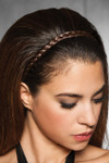HairDo Extension - French Braid Band (#HXFBBD) side 1