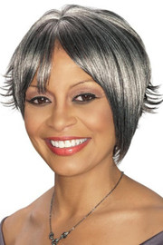 Foxy Silver Wig - Annmarie