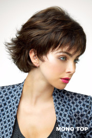 Simply Beautiful Wig by Revlon - Paisley (#6602) Front/Side