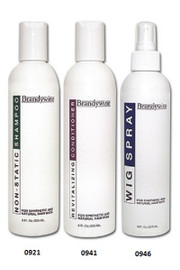 Wig Care Kit - Brandywine - 3 Pack Combo - Shampoo, Conditioner, Wig Spray