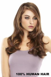 EasiHair Extension - EasiVolume Elite Remy HH 18 inch (#330) Front 1