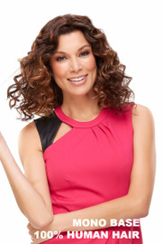 EasiHair Extension - EasiPart HH 18 (#734) Front curly 1