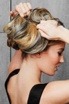 HairDo Extension - Color Splash Wrap (#HXCSWR) back 1