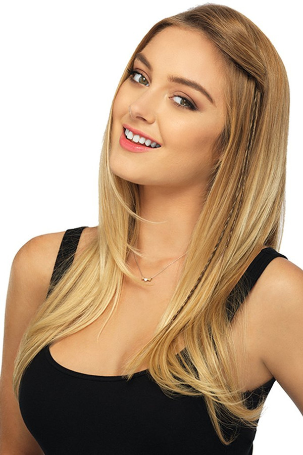 POP by Hairdo - Two Braid Extension Front