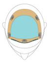 "Easihair - Top Form 6""-8"" Exclusive Colors (#743A) diagram 1"