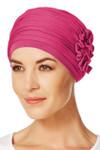 Christine Headwear - Lotus Turban Cerise (0254)