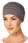 Christine Headwear - Yoga Turban Grey-Brown (0253)