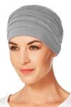 Christine Headwear - Yoga Turban Grey Melange (0169)
