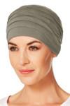 Christine Headwear - Yoga Turban Brown Green (0338)