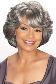 Foxy Silver Wig - CeCe