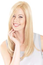 Belle Tress Lace Front Mono Top 18 Creamy Blonde - main