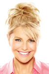 Christie Brinkley Wig - Natural Tone Hair Wrap (CBNTWR) front 1