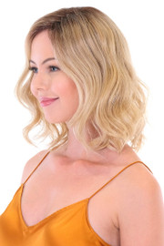 "Belle Tress Wigs - Premium 14"" Wavy Topper-Side"