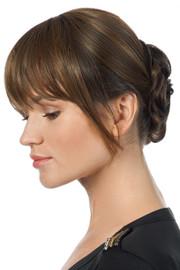 TressAllure Wigs - Slip On Up Do (TA1104) - (8R) Medium Brown - Side