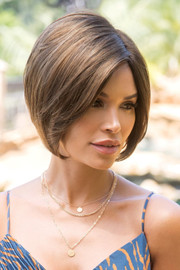 Noriko Wigs - Emery #1714 - Kandy Brown-LR - Front