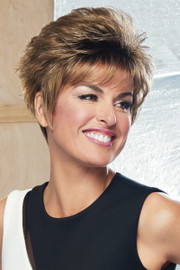 Raquel Welch Wigs - Sparkle - Petite - Shaded Iced Cafe Latte (SS9/24) - Front