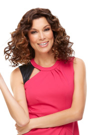 EasiHair Extension - EasiPart HH 18 (#734A) Exclusive Colors Front Curly 1
