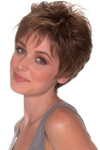 Belle Tress Wig - Jackie Mono (#6010) Front/Top