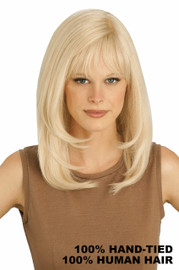 Louis Ferre Wigs - Platinum PC106 Human Hair Front