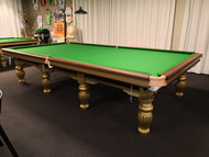 12 foot gold steelbock snookertable