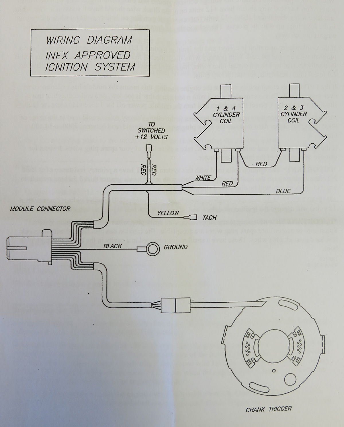 600 Legend Race Car Wiring Schematics Diagram Basic For Andrews Motorsports Technical Information Ignition