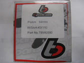 TBW0590 Replacement Piston Kit – 60mm (143cc).  It comes with the Piston, Pin, Rings, and Clips.  This piston kit works with the following cylinder heads:  All KLX110 Stock Heads All Z125 Stock Heads For our V2 Race Heads or ZS Race heads, please use the High Compression 60mm Piston Kit (SKU – TBW1390) also available in this section.