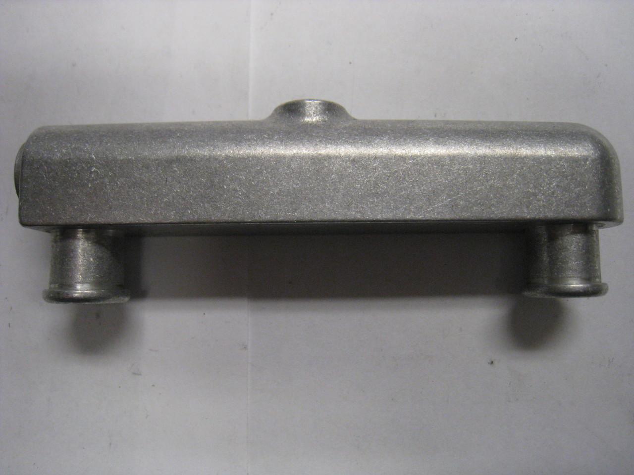 Brake Product, Aluminum Inlet Adapter Block, Fits The Aluminum Brake Master  Cylinder, 145X00X026-DUALPORT2