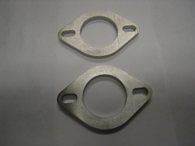 "AMS Custom 1.250 Bore"" x 3/16"" Width Stainless Exhaust Flange Set of Two"