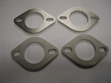 "AMS Custom 1.250"" Bore x 3/16"" Width Stainless Steel Exhaust Flange (Set Of 4)"