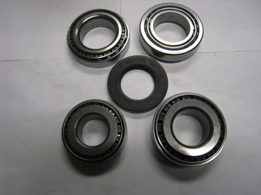 Rim Polished Kit Includes: Carrier Bearings Qty 2 Inner Pinion Bearing Outer Pinion Bearing Metric Pinion Seal