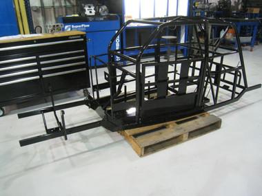 Legends Race Car Chassis, Sedan 2 Bar, 110N00X001-2BAR  Remanufactured Andrews Motorsports Chassis Powder Coated Black