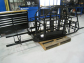 Legends Race Car Chassis, Sedan 2 Bar, 110N00X001-2BAR  Remanufactured Andrews Motorsports Chassis Powder Coated Black