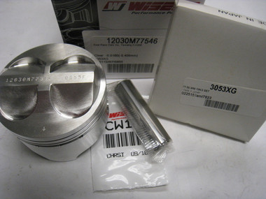 Single Piston, L1204cc Kit 12030M77546, Old Wiseco Part Number 4588PS