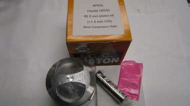 #P655 JCC Piston Kit  Replaces Honda 13105-312-000-150
